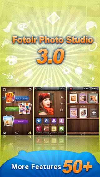 Fotolr Photo Studio for iPhone