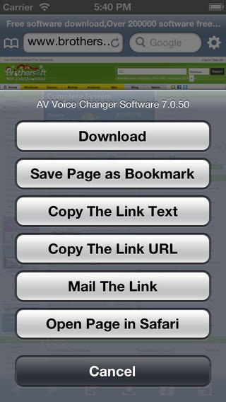 High Speed Download Free for iOS