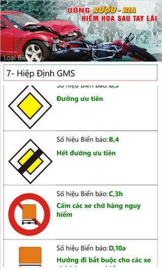 Học luật giao thông for Windows Phone