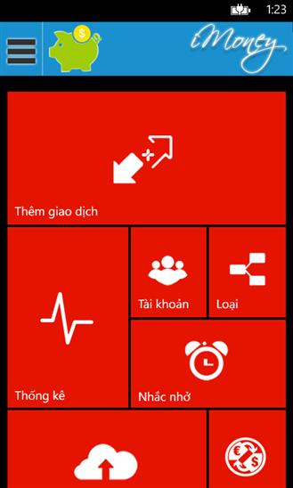 iMoney for Windows Phone