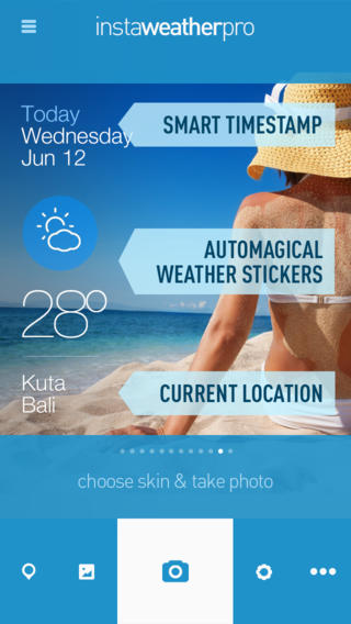 InstaWeather Free for iOS