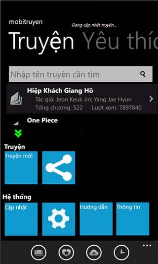 Mobi Truyện for Windows Phone