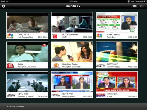munduTV for iPad