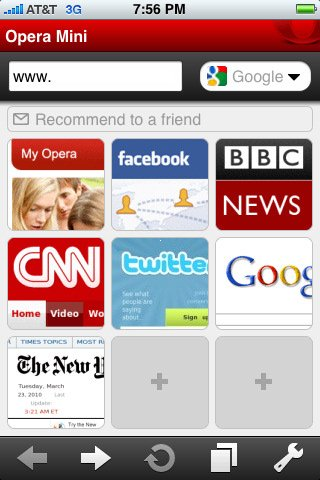 tai Opera Mini cho Windows Phone
