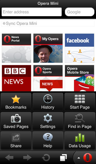 download Opera Mini cho iPhone