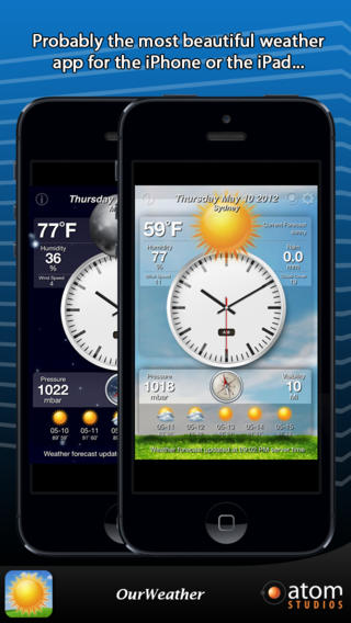 OurWeather Free for iOS