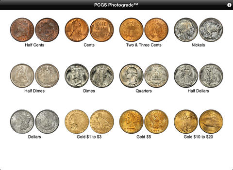 PCGS Photograde HD for iPad