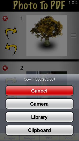 Photo To PDF for iOS