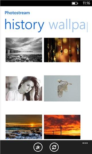 Photostream for Windows Phone
