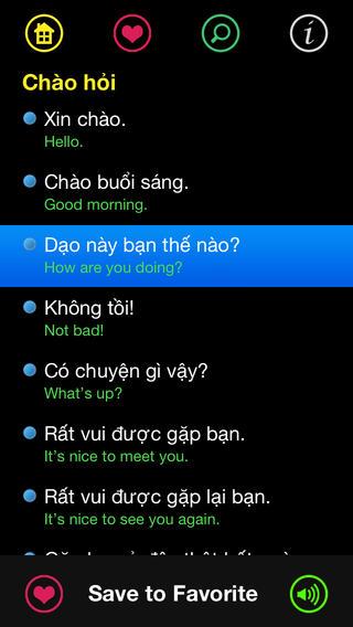 Sổ tay đàm thoại Anh Việt for iOS