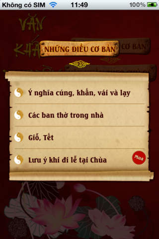 Văn khấn truyền thống for iOS