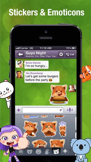 tai Viber cho iPhone