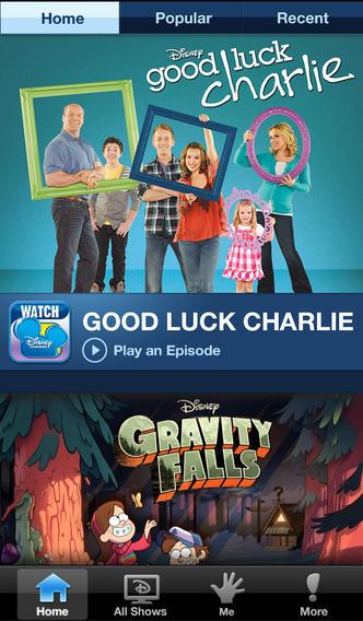Watch Disney Channel for iOS