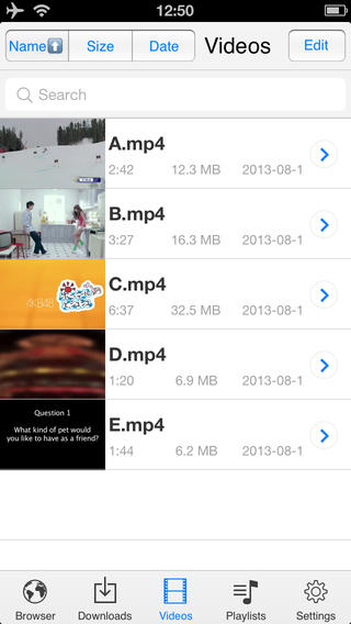 download Free video downloader cho iPhone