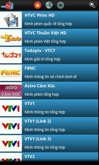 weTV for Android