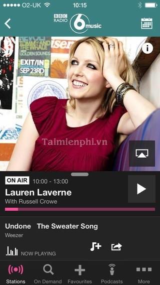 BBC iPlayer Radio for iOS - Nghe radio trên iPhone, iPad