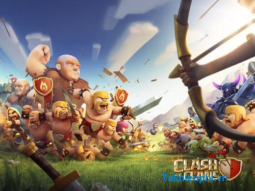 tai Clash of Clans cho Android