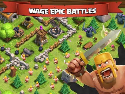 download Clash of Clans cho Android