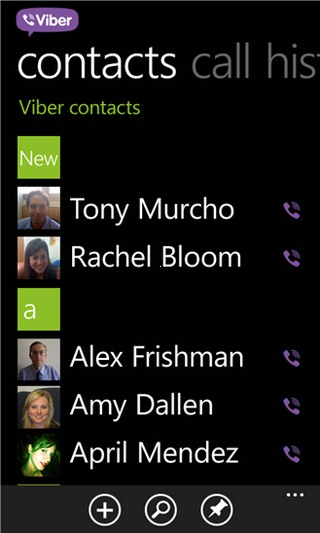 viber windows phone 7