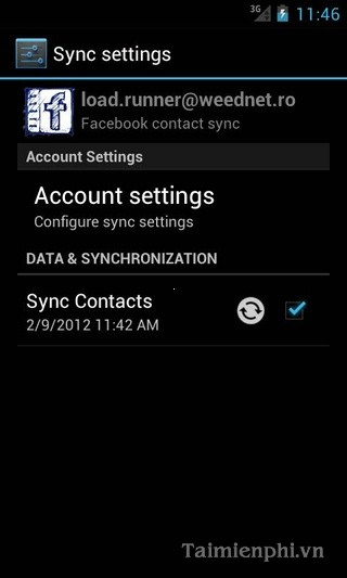 UberSync Facebook Contact Sync cho Android