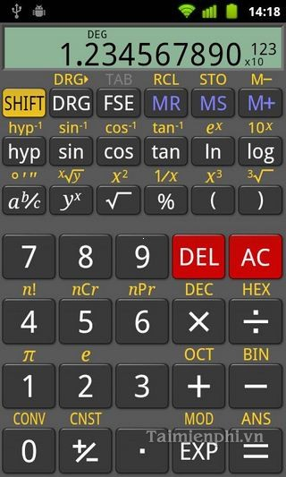 RealCalc cho Android
