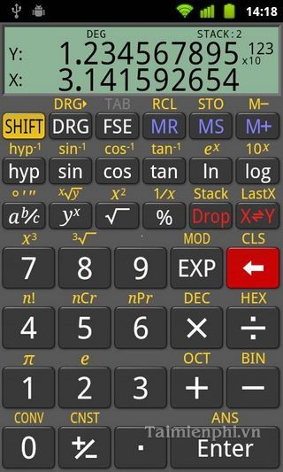Tải RealCalc cho Android