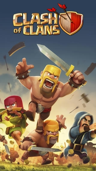 tai Clash of Clans cho iPhone