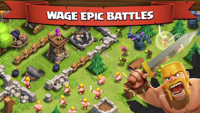 download Clash of Clans cho iPhone