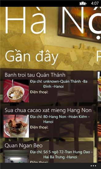 Hà Nội quán for Windows Phone