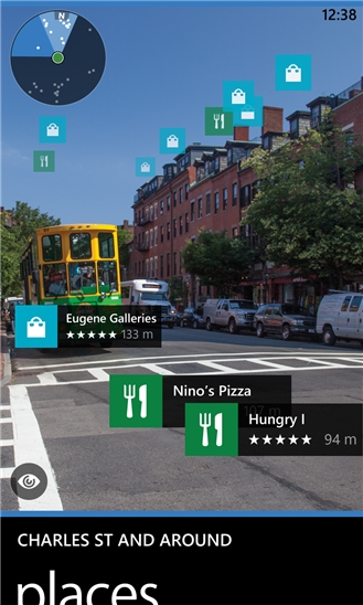 HERE Maps for Windows Phone