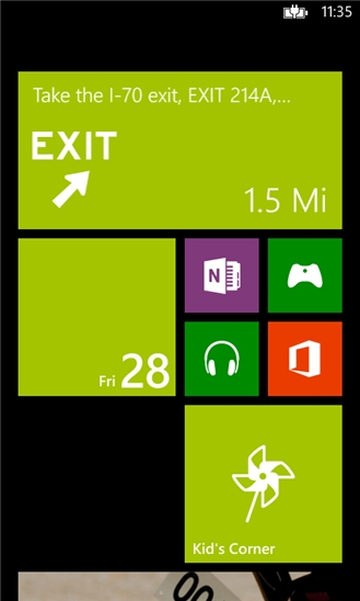 MapQuest Navigation for Windows Phone