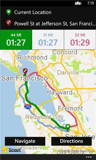 Scout GPS Maps for Windows Phone