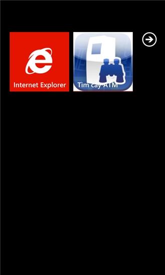 Tìm cây ATM for Windows Phone