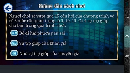 ai la trieu phu for Android