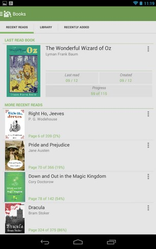 Aldiko Book Reader for Android