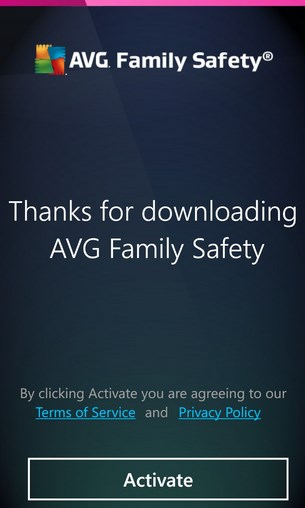 AVG Family Safety 8 for Windows Phone