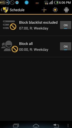 Chặn cuộc gọi (Blacklist) cho Android