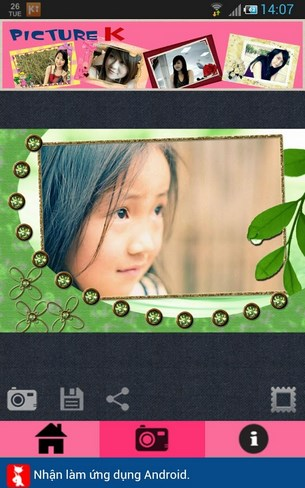Chụp ảnh Hàn Quốc for Android