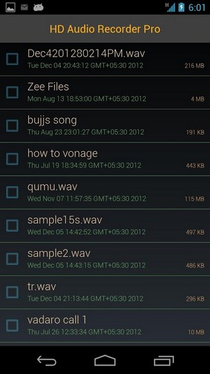 HD Audio Recorder Pro for Android