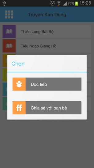 Kiếm hiệp Kim Dung for Android