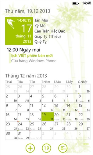 Lịch Việt for Windows Phone