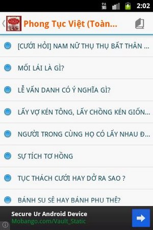 Phong tục tập quán Việt Nam for Android