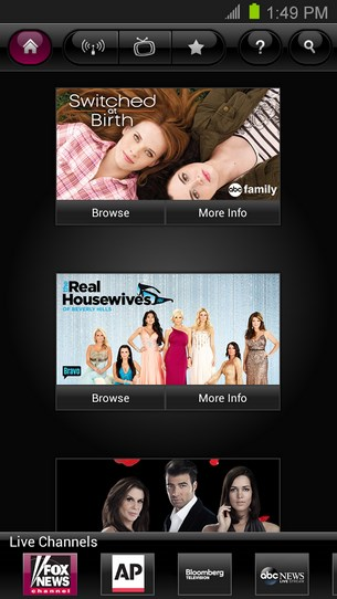 T Mobile TV with Mobile HD for Android