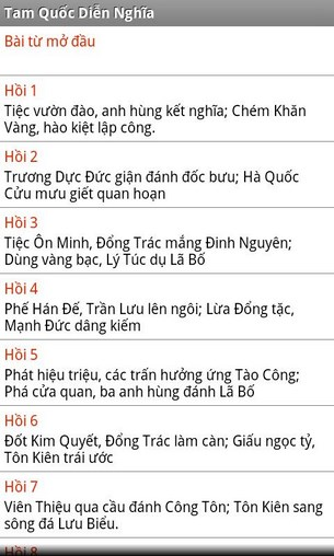 Tam Quốc Diễn Nghĩa for Android