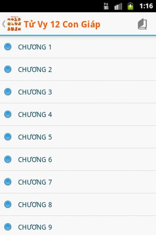 Tử vi 12 con giáp 2013 Quý Tỵ for Android