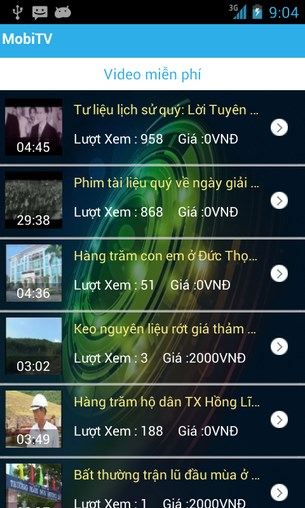 Viettel MobiTV for Android