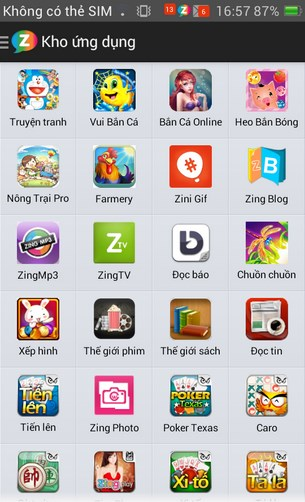 Zing for Android